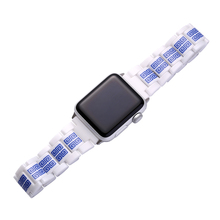 2018 Luxury Charming Ceramic Watch Strap Band For Apple Watch 38mm 42mm,For Apple Watch Series 1 2 3 Wrist Strap With Adapters