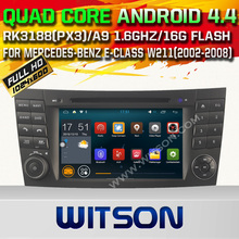 WITSON Android 5.1 car dvd For MERCEDES-BENZ E-CLASS W211 with Quad Core Rockchip 3188 1080P 16g ROM WiFi DVR Picture