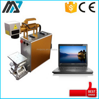Popular new arrival belt buckles fiber laser marking machine