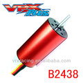 B2438-10T 4500KV Motor,1/12th&1/16th rc car's brushless motor,electric car's model