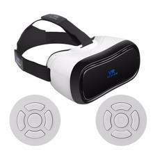 New Wifi VR P8 video game glasses with bluetooth wireless controller