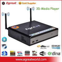 Egreat R200S Pro 3D hdd media player 1080p with tv recorder