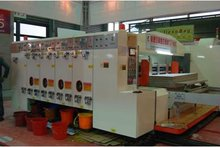 XY-H 1250*2400 economical high speed 2 color printing and slotting machine