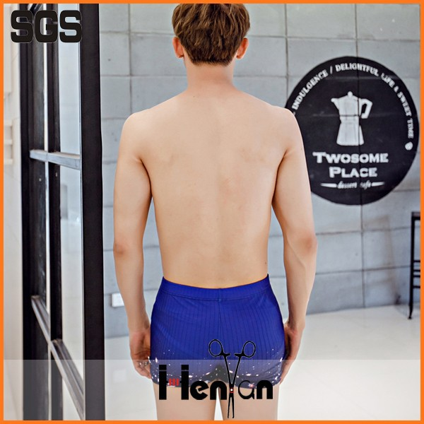 wholesale custom mens transparent swimwear men