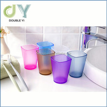 Creative plastic thicken square wash gargle cup & tooth brushing cup
