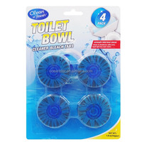 50g/1.75oz blue toilet cistern block/ flush toilet bowl clean with blue/green color