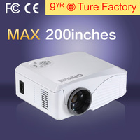 Newest MINI LED LCD portable projector BH808+ HD 1080p support VIDEO Games txt MUSIC TV home theater projector