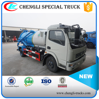 Dongfeng 4x2 4x4 RHD Small Mini High Pressure Vacuum Sewage(Fecal) Disposal Trucks Toilet Sucker Truck