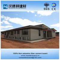 Soundproof roofing sheets high quality fiber cement board