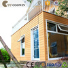 exterior wood composite 3D design prefabricated wall panels
