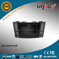Wince 6.0 7 inch 2 din car radio gps for 2012 Suzuki Swift with dvd palyer