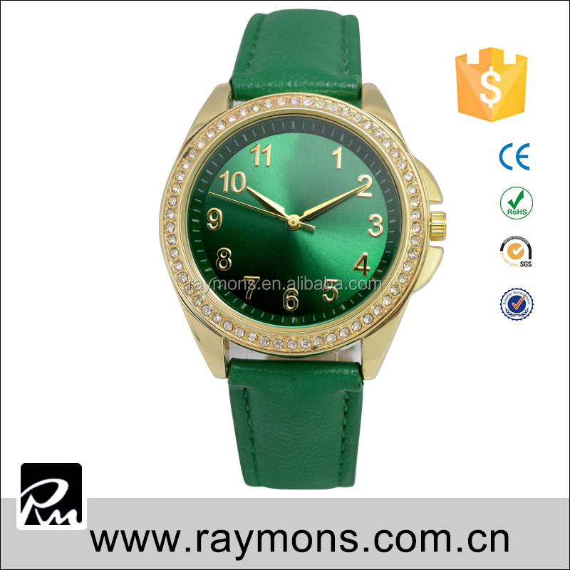 Chinese movt quartz alloy case waterproof omax quartz watch