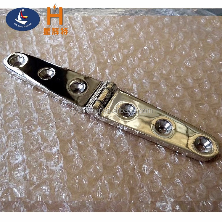 Deck and Cabin Hardware Marine Grade Boat Lost-wax Casting Marine Hinges Stainless Steel Marine Strap Hinge