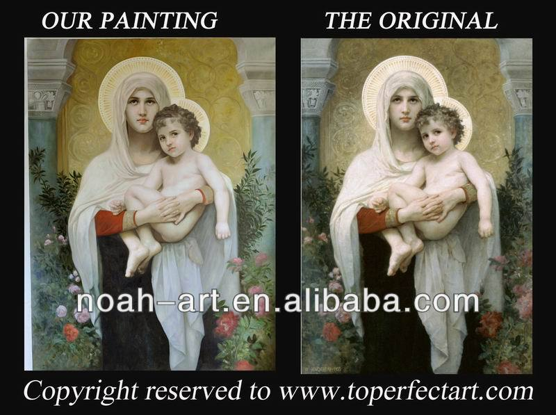 Handmade jesus christ oil paintings on canavs