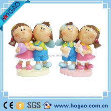 Hot sell couple figurine children kiss for wedding gift,best wedding gifts souvenirs,wedding souvenirs