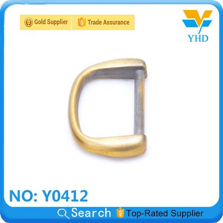 fashion Flat D Ring accessory for bag fitting