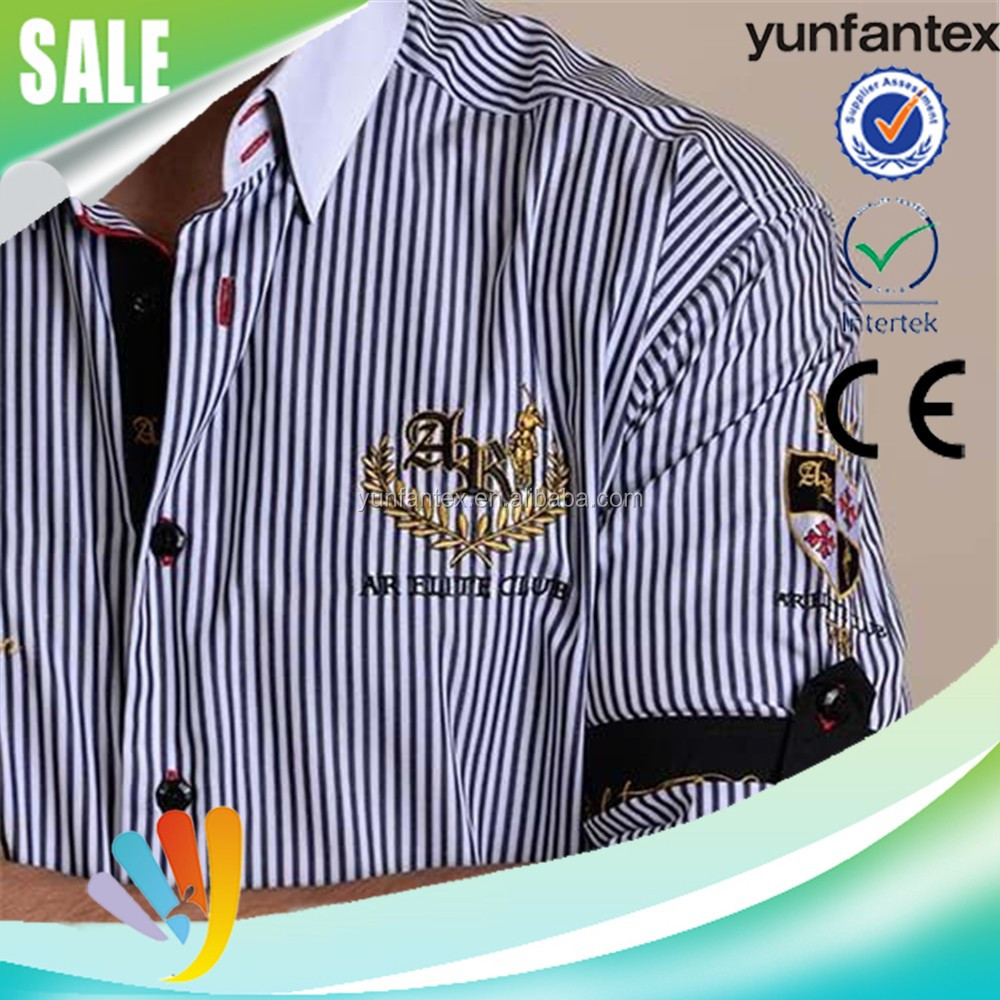 2016 latest design africa style embroidered men's shirt