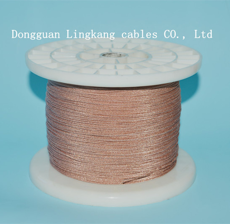 High quality heat resistant copper stranded wire, braided copper wire