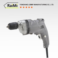 RMZ01 220v 50/60HZ Rated frequency 1.5kg 0-3200r/min No-load speed Double Speed ce 13mm 1050w drill 220v metabo power tools