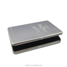 CD /VCD /DVD Industrial Use Single DVD/ CD tin case with PP injection tray inside