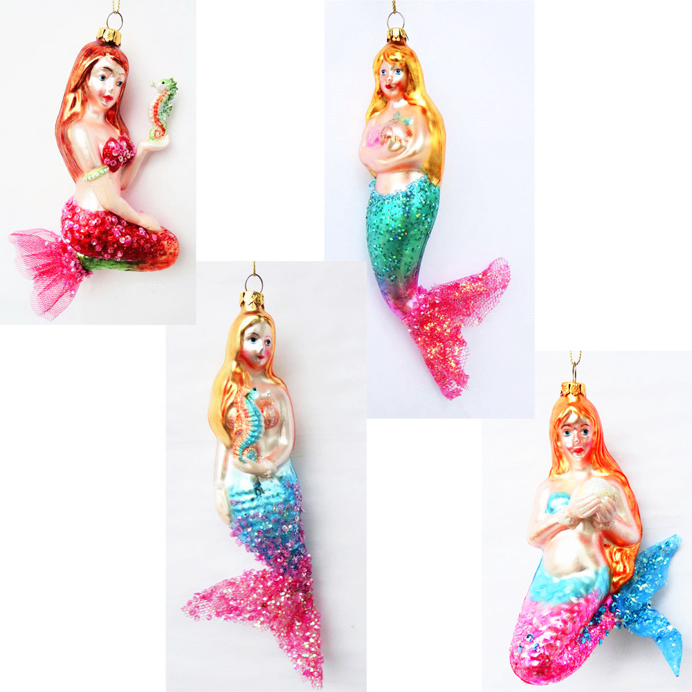 Hand blown glass christmas ornaments - Tropical Art Hand Blown Glass Fish Christmas Ornaments Wholesales From Direct Factory In China