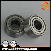 Shanghai Double Row Angular Contact Ball Bearing 5207ZZ with Shield for OEM market