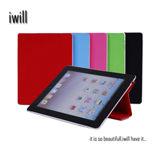 wholesale china import custom flip leather case for ipad 2 case