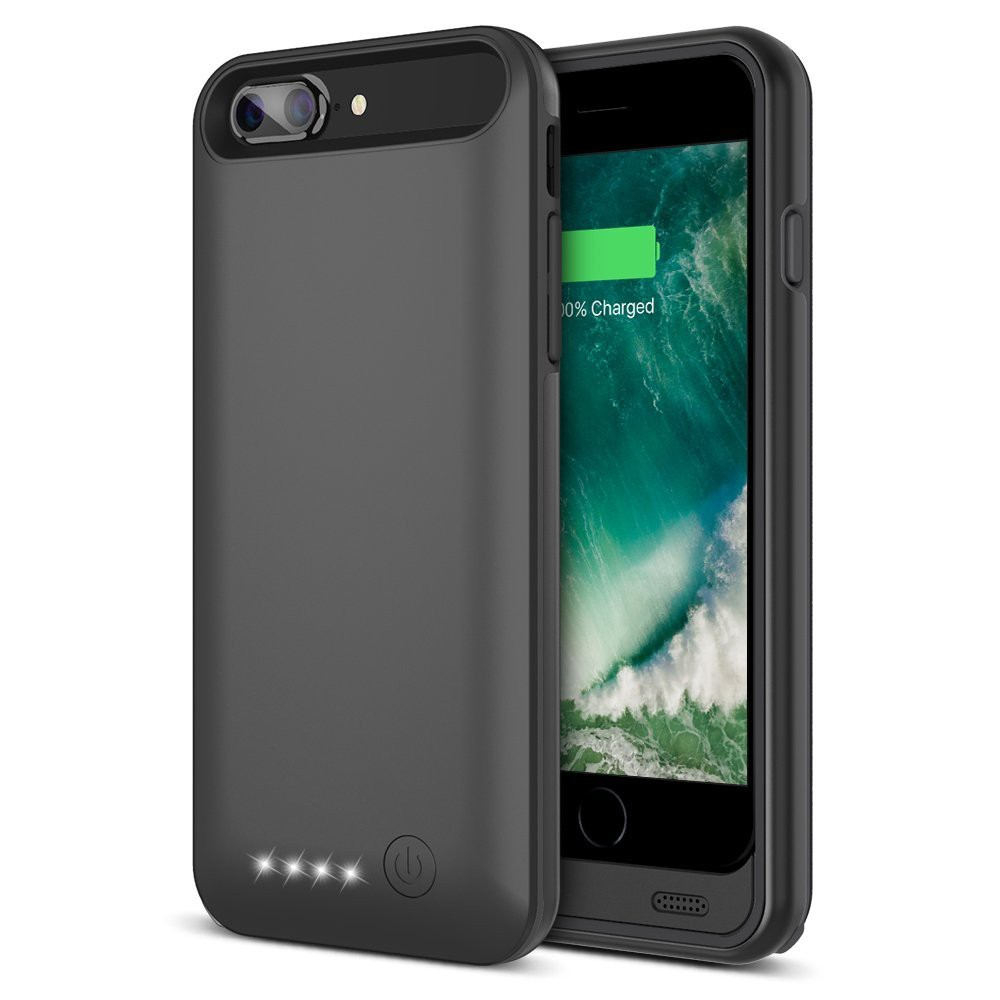 4000mah external power case charger for iPhone 7 plus, 120% more power