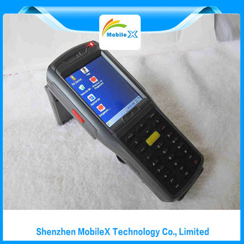 (MX8900) ALL IN ONE Design Handle PDA Barcode Scanner With Wifi Printer