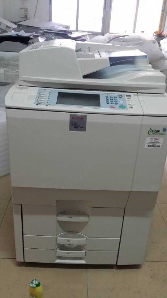 used copier machine mpc7501 Multifunction color printer scanner ricoh copier