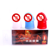 Factory Wholesale sex love tools,low temperature penis candles add passion for couples