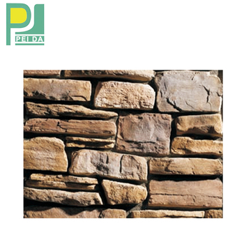 Multi-color House Exterior Wall Decorative Cultured Stones Tiles