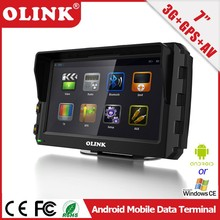 "7"" WinCE 6.0 Mobile Data Terminal with 3G, GSM, WIFI, Bluetooth, RS232"