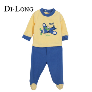 Best Quality OEM Cotton Children Autumn Winter Clothes with Socks