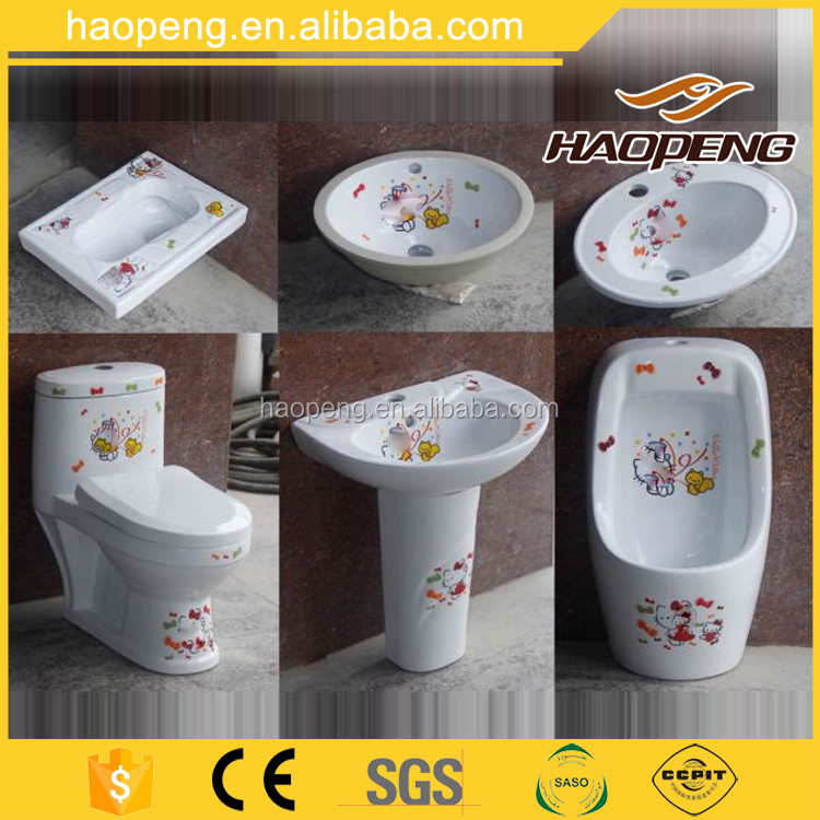 Haopeng small size one piece kid school children size kindergarten toilet