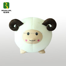 Cute Filling Polyester Beads Sheep Toys Cushion