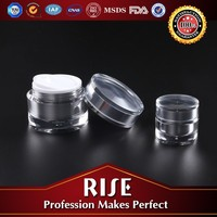 Professional design ISO9001 factory Cosmetic plastic packaging containers