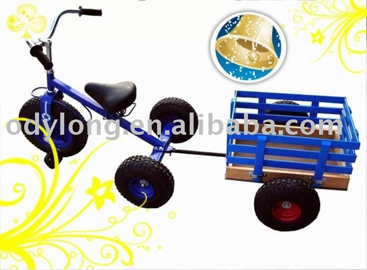 hot sell kid's tricycle toy with tailer ,kids bike(F80AB)