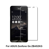 Hot in Poland anti smudge round edge Tempered Glass Screen Protector for ASUS Zenfone Go ZB452KG