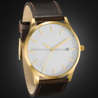 quartz stainless steel watch water resistant classical men wristwatches