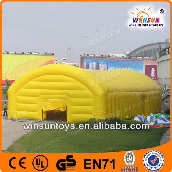 EN14960 transparent event inflatable greenhouse for sale