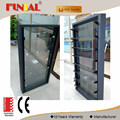 New Design Hot Sale aluminum window door cheap price/aluminum glass louver shutter