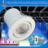 Stage lights GU10 MR16 Spotlight unit Fire Rated Downlight Fitting for USA market