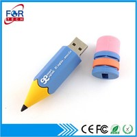 2016 PVC Rubber Pen Flash Drive Memory Wholesale for Promotion Gift