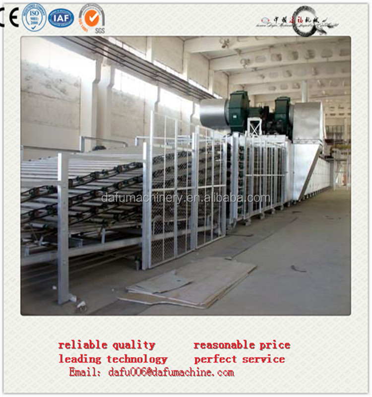 CE approved pvc laminated gypsum board production equipments with factory price