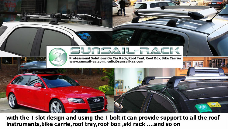 roof luggage rack crossbar for vw polo
