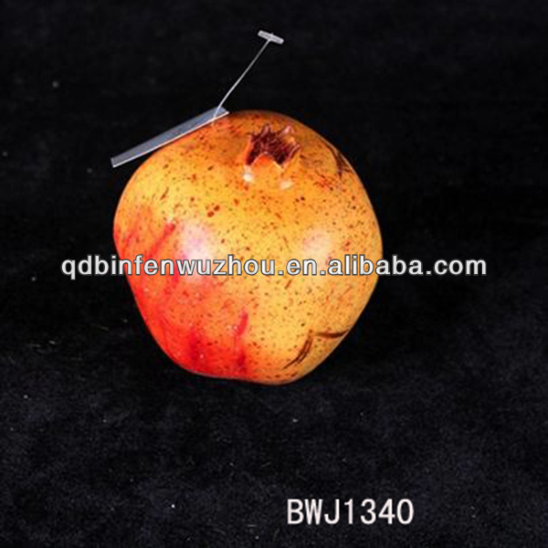 Decorative Artificial Fruit fake pomegranate plastic fruit