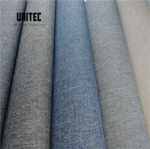 China Factory 100% Polyester Jacquard Blackout Fabric for Roller Blinds