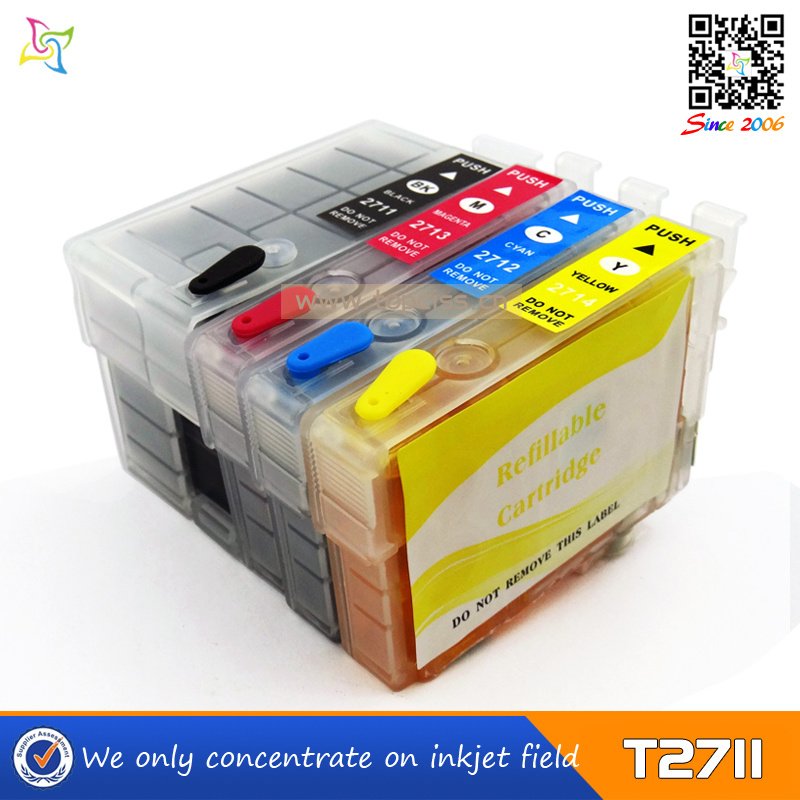 inks cartridge for Epson T2711-T2714 suitable for epson WF-3620DTW/WF-3640DTW/WF7610DTW