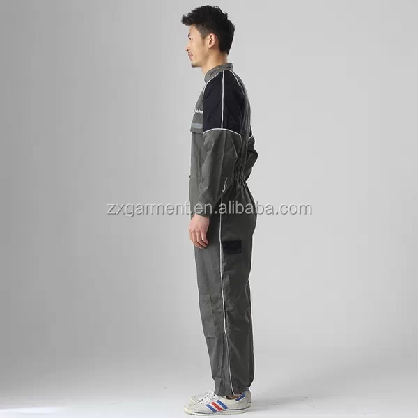Chemical Protective Hooded Coveralls